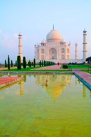 Taj Mahal Temple at Sunrise, Agra, India Fine-Art Print