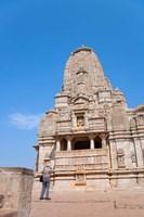 Jain Temple in Chittorgarh Fort, Rajasthan, India Fine-Art Print
