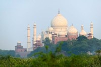 Taj Mahal (UNESCO World Heritage site), Agra, India Fine-Art Print