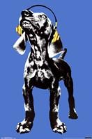 Puppy - Modern Weimaraner Wall Poster