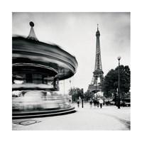 Merry Go Round, Study 1, Paris, France Fine-Art Print