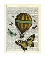 Butterflies & Balloon Fine-Art Print