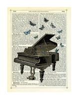 Piano & Butterflies Fine-Art Print