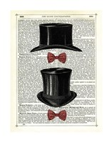 Top Hat & Bow Ties Fine-Art Print