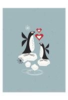 Penguin Love Fine-Art Print