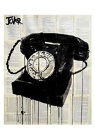 Black Phone Fine-Art Print