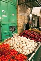 Machne Yehuda Market, Jerusalem, Israel Fine-Art Print