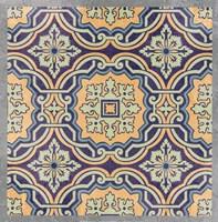 Floral Tile III Fine-Art Print
