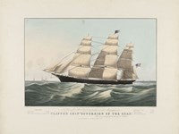 "The Clipper Ship ""Sovereign of the Seas"", 1852 Fine-Art Print"