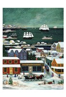 Winter in Nantucket Harbor Fine-Art Print