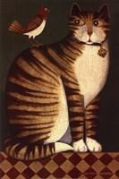 Temptation I (Cat) Fine-Art Print