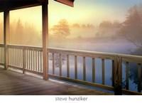 Lodge Deck Fine-Art Print
