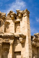 The Nymphaeum, Once the Roman city of Gerasa, Jerash, Jordan Fine-Art Print