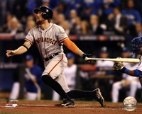 Hunter Pence Home Run Game 1 of the 2014 World Series Fine-Art Print