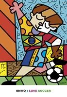 I Love Soccer Fine-Art Print
