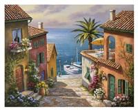 Villas Private Dock Fine-Art Print