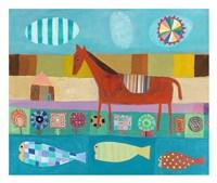 Red Horse Fine-Art Print
