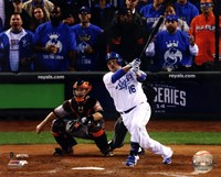 Billy Butler Game 6 of the 2014 World Series Action Fine-Art Print
