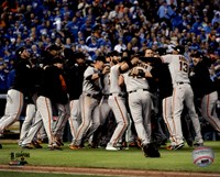 The San Francisco Giants celebrate winning Game 7 of the 2014 World Series Fine-Art Print