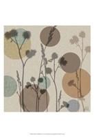 Polka-Dot Wildflowers I Fine-Art Print