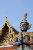 Statue at The Grand Palace, Bangkok, Thailand Fine-Art Print