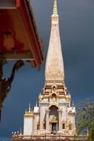 Wat Chalong Buddhist Monastery, Phuket, Thailand Fine-Art Print