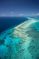 Yacht, Great Barrier Reef, North Queensland, Australia Fine-Art Print