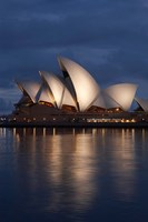 Australia, New South Wales, Sydney Opera House Silhouette Fine-Art Print