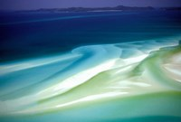 Australia, Whitsunday Island, Hill Inlet, pattern Fine-Art Print