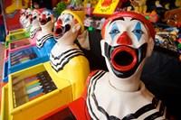 Laughing Clowns Side-Show, Rotorua, Bay of Plenty, North Island, New Zealand Fine-Art Print
