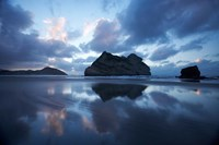 Approaching Storm, Archway Islands, Wharariki Beach, Nelson Region, South Island, New Zealand Fine-Art Print