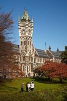 Graduation photos at University of Otago, Dunedin, South Island, New Zealand Fine-Art Print