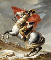 Napoleon Bonaparte on his Horse Fine-Art Print