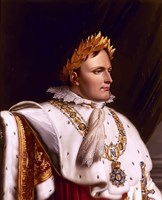 Napoleon Bonaparte (side profile) Fine-Art Print