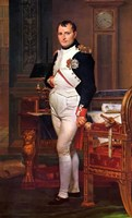 Napoleon Bonaparte (digitally restored) Fine-Art Print