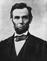 Civil War era Vector Photo of President Abraham Lincoln Fine-Art Print