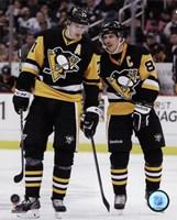 Evgeni Malkin & Sidney Crosby  2014-15 Action Fine-Art Print