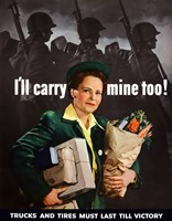 I'll Carry Mine Too Fine-Art Print