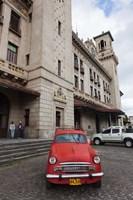 Cuba, Havana, Central Train Station Fine-Art Print