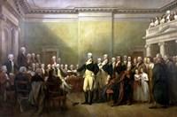 General George Washington Resigning His Commission Fine-Art Print