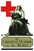 Red Cross - Greatest Mother in the World Fine-Art Print