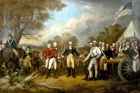 Surrender of British General John Burgoyne Fine-Art Print