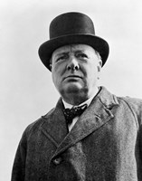 Sir Winston Churchill Fine-Art Print