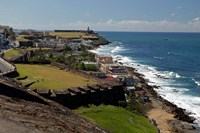 Puerto Rico, San Juan View from San Cristobal Fort Fine-Art Print