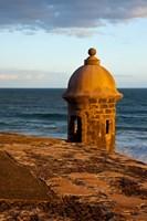 Sentry Box, El Morro Fort, San Juan, Puerto Rico Fine-Art Print