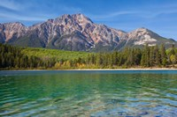 Patricia Lake and Pyramid Mountain, Jasper NP, Alberta, Canada Fine-Art Print