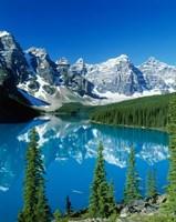 Wenkchemna Peaks and Moraine Lake, Banff NP, Alberta, Canada Fine-Art Print