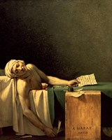 The Death of Marat, 1793 Fine-Art Print