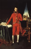Napoleon Bonaparte in Red Fine-Art Print