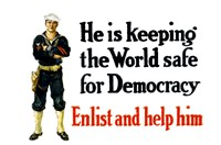 Enlist and Help Him - Navy Sailor Fine-Art Print